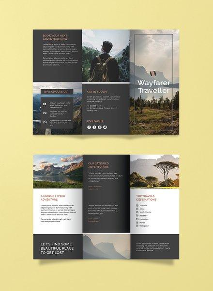 Travel Agency Brochure Template
