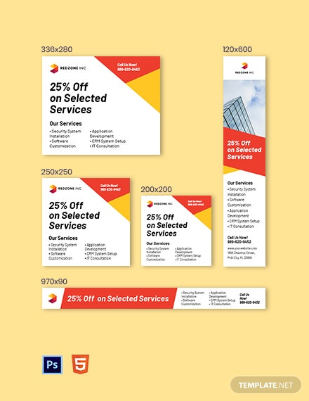 Software Agency AD Template