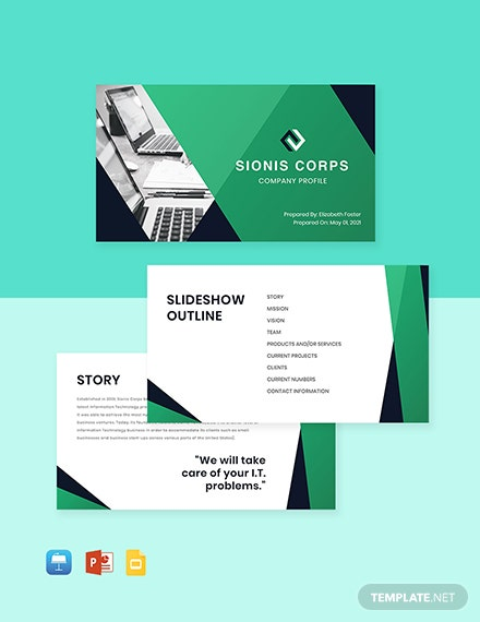 Technical Project Presentation Template