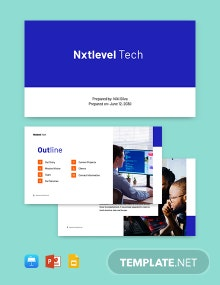 Software Development Presentation Template