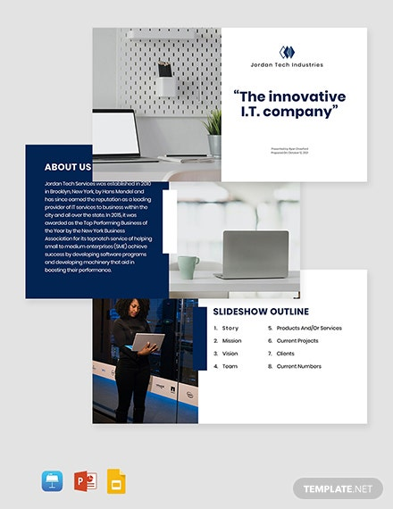 IT Services Presentation Template