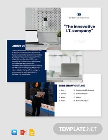 IT Services Presentation Template