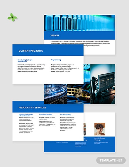 Software Architecture Presentation Template editable
