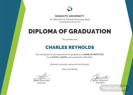 Free sample diploma certificate template free templates free sample diploma certificate template yelopaper Gallery