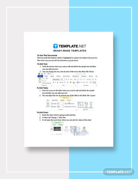 Free Recovery Tests Template instruction