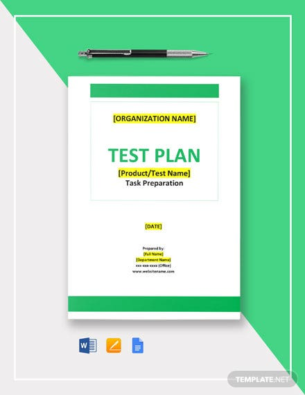 Task Preparation Template