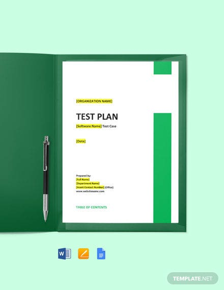 Test Case Template