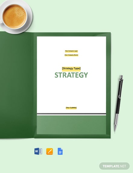 Free Basic Software Strategy Template