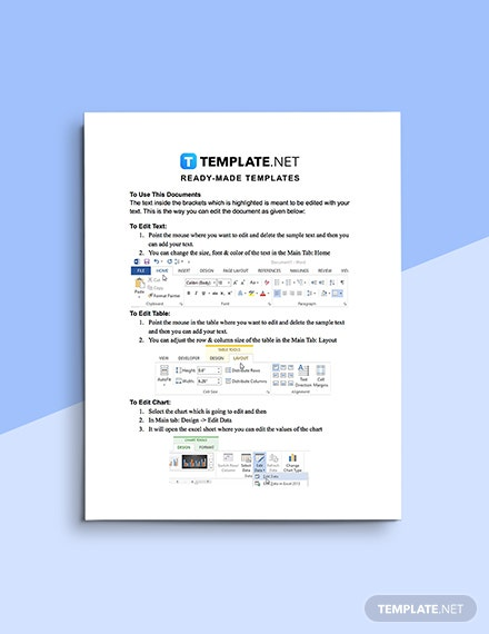 Free Sample IT Service Report Template Editable
