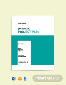 Software Project Closure Template