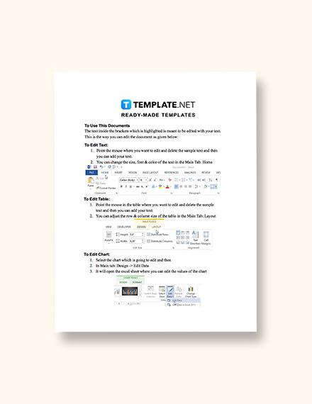 System Design Document Template Format