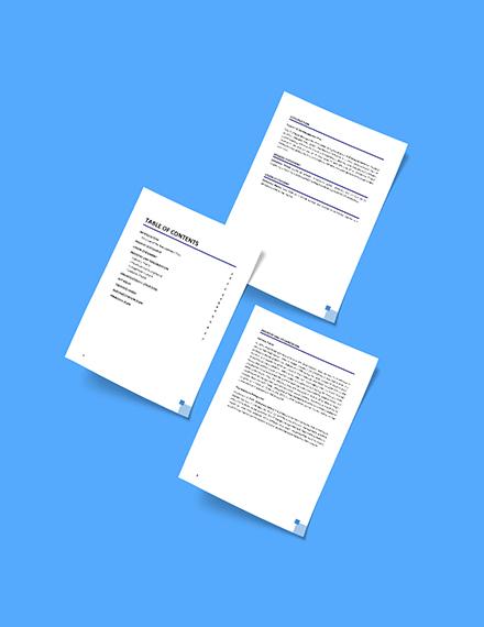 IT Change Management Plan Format