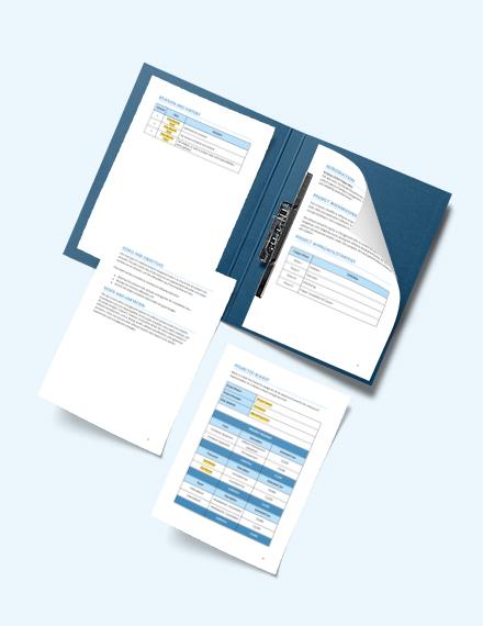 Software Project Management Format