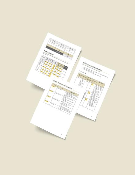 Sample Software Configuration Management Template
