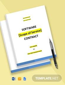 Software Purchase Contract Template