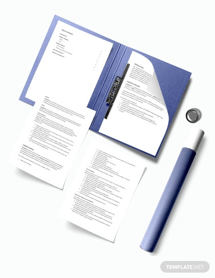 IT Service Charter Template download