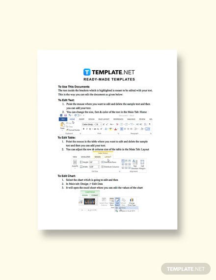 Free Software Requirements Template Sample