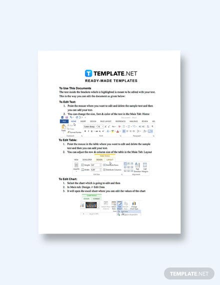 Free Software Interface Requirements Template Format