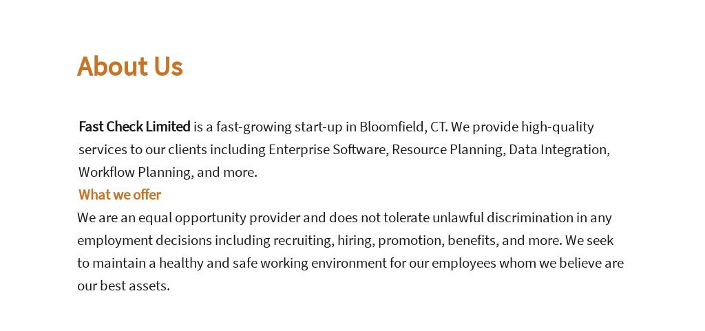 Free Customer Care Account Manager Job Ad/Description Template 1.jpe