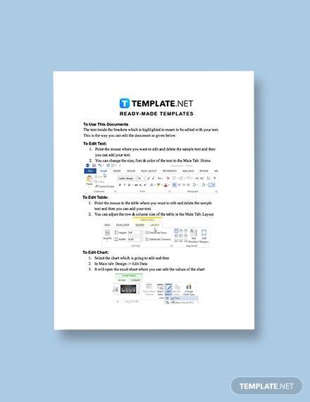 Computer Services Invoice Template format