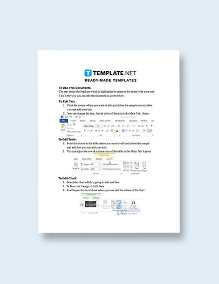 Web Development Invoice Template format