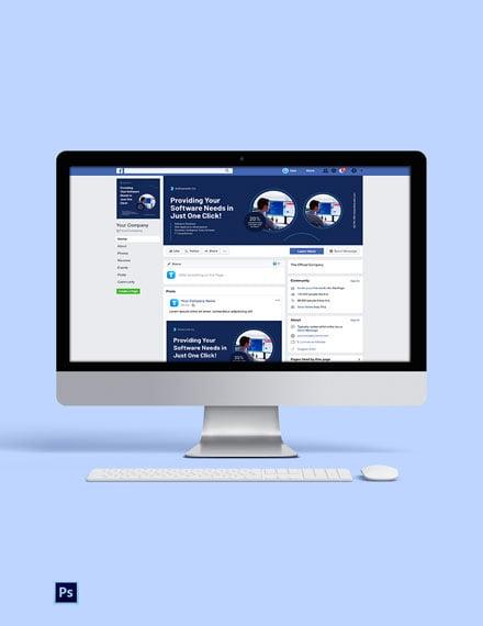 Software Company Social Media Template