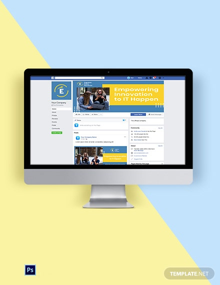 IT Services Social Media Template