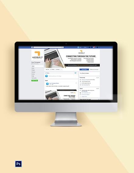 IT Company Social Media Template
