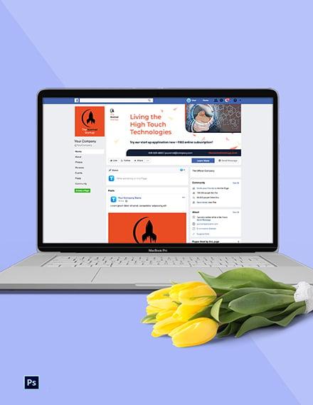 IT Startup Social Media Template