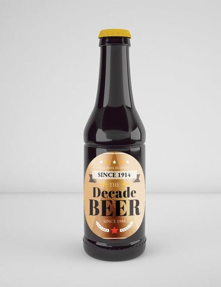 Free Vintage Beer Label Template