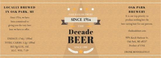 Vintage Beer Label Template.jpe