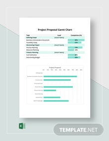 Project Proposal Gantt Chart Template