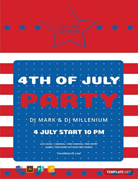 4Th Of July Flyer Template from images.template.net