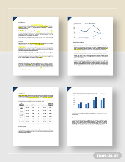Real Estate Market Analysis Report Download