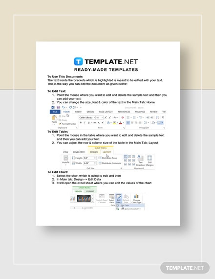 Real Estate Market Analysis Report Instructions