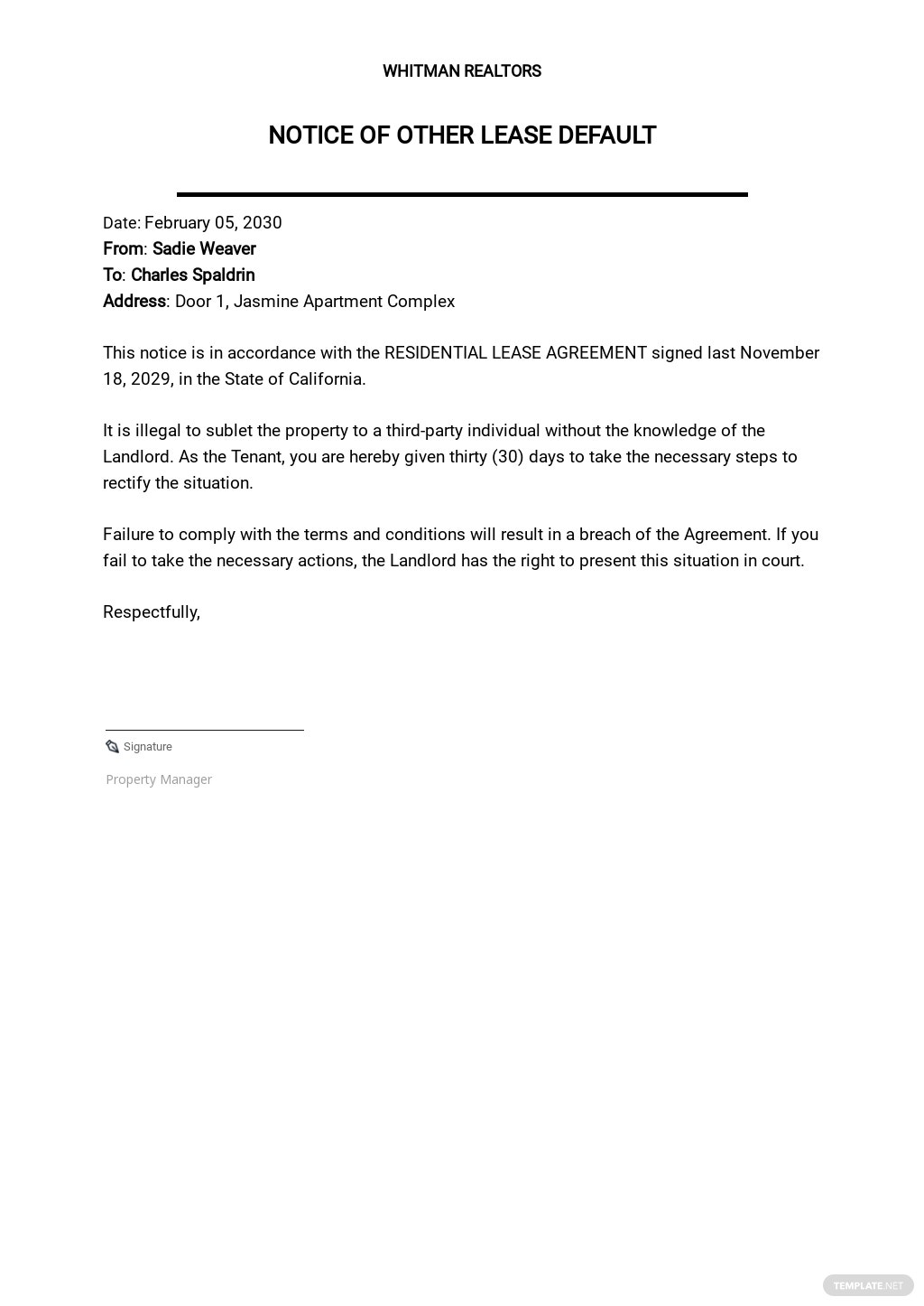 Notice of Other Lease Default Template.jpe