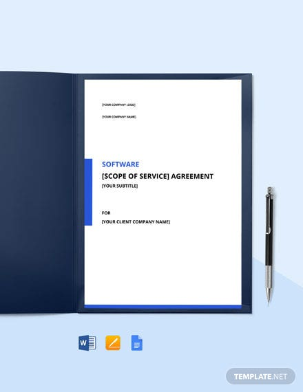 Software and Hosting Services Agreement Template