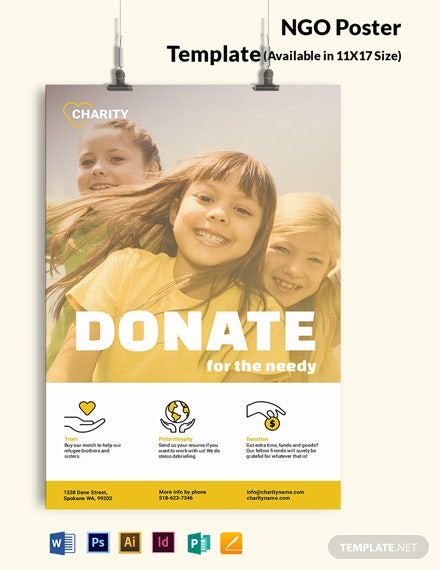 NGO Poster Template