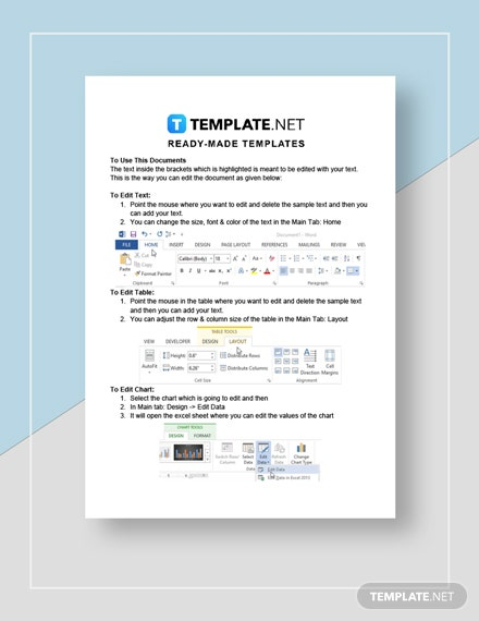 Lease Termination Notice Letter Instruction