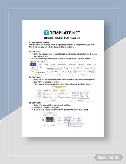 Lease Transfer Request Letter Instruction