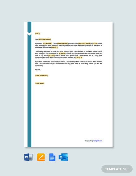 Free Simple Letter of Interest Template