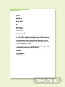 Sample Proposal Letter Template