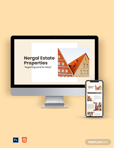 Real Estate Marketing Newsletter Template