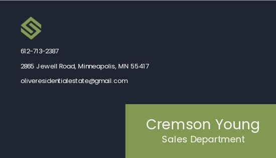 Real Estate Salesperson Business Card Template 1.jpe