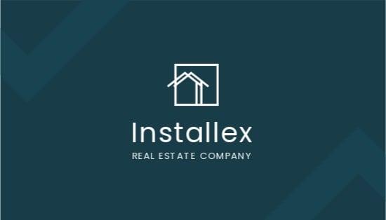 Real Estate Developer Business Card Template.jpe