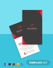 Realty Agency Business Card Template