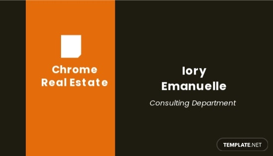 Home Real Estate Business Card Template.jpe