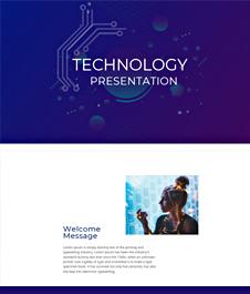 Technology Presentation Template