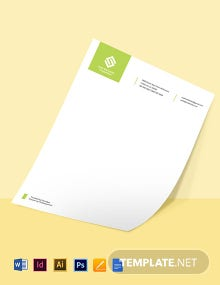 Real Estate Development Letterhead Template