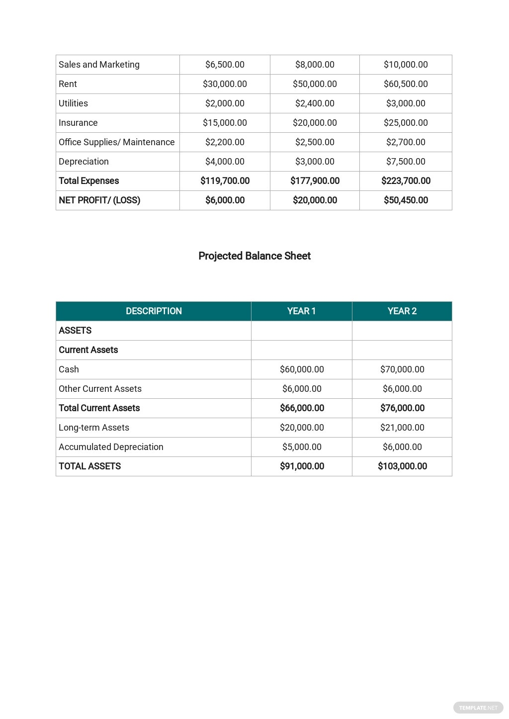 Free Simple Real Estate Business Plan Template 8.jpe